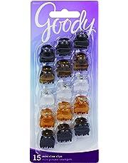 Goody Women's Classics Mini Crown Claw Clip, 15 Count