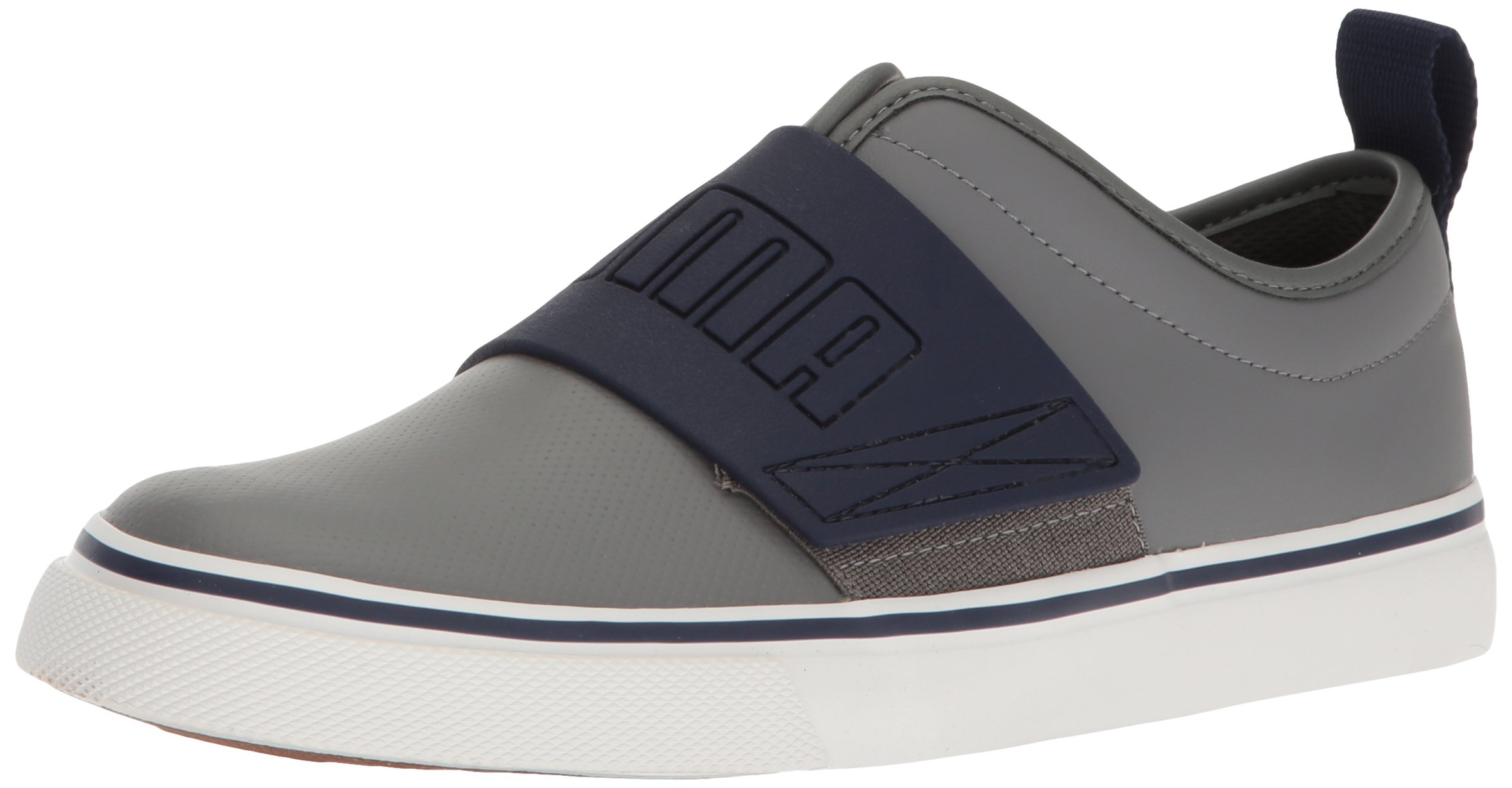 PUMA Kids' El Rey Fun Jr Chukka, Steel Gray-Peacoat, 5 M US Big Kid