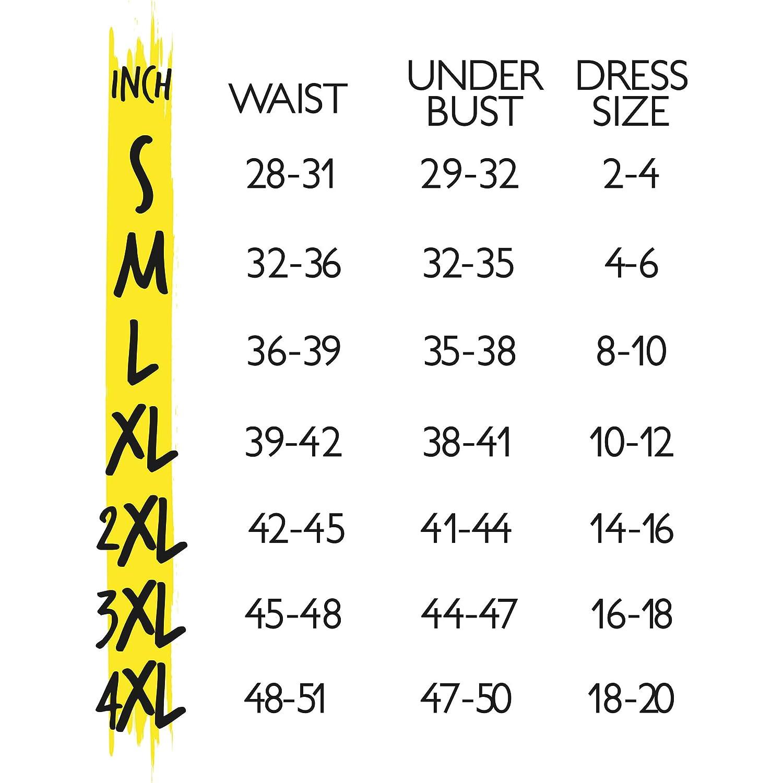 Hot Shapers Hot Belt Waist Cincher with Waist Trainer Womens Workout Sweat Corset for Weight Loss