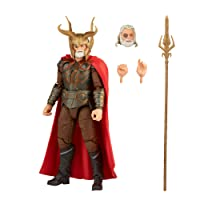Marvel Hasbro Legends Series 6-inch Scale Action Figure Toy Odin, Infinity Saga Character, Premium Design, Figure and 4 Accessories