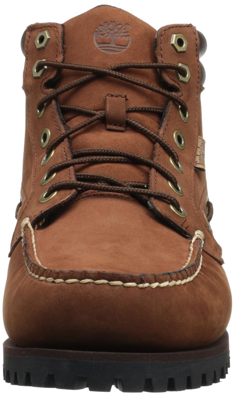 62842a5490f4 Timberland 6921R Men s Earthkeepers Newmarket Oakwell 7-Eye Moc Cognac  Nubuck with Chocolate Size-8.5 W UK  Amazon.co.uk  Shoes   Bags