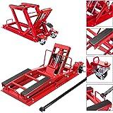 BIG RED T64017 Torin Hydraulic Powersports Lift Jack (Motorcycle, ATV, UTV, Snowmobile): 3/4 Ton (1,500 lb) Capacity…