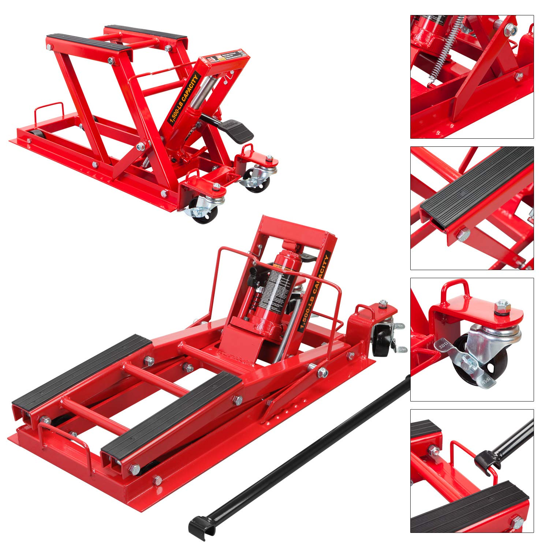 Torin Big Red Motorcycle / ATV Jack: 3/4 Ton (1,500 lb) Capacity by Torin