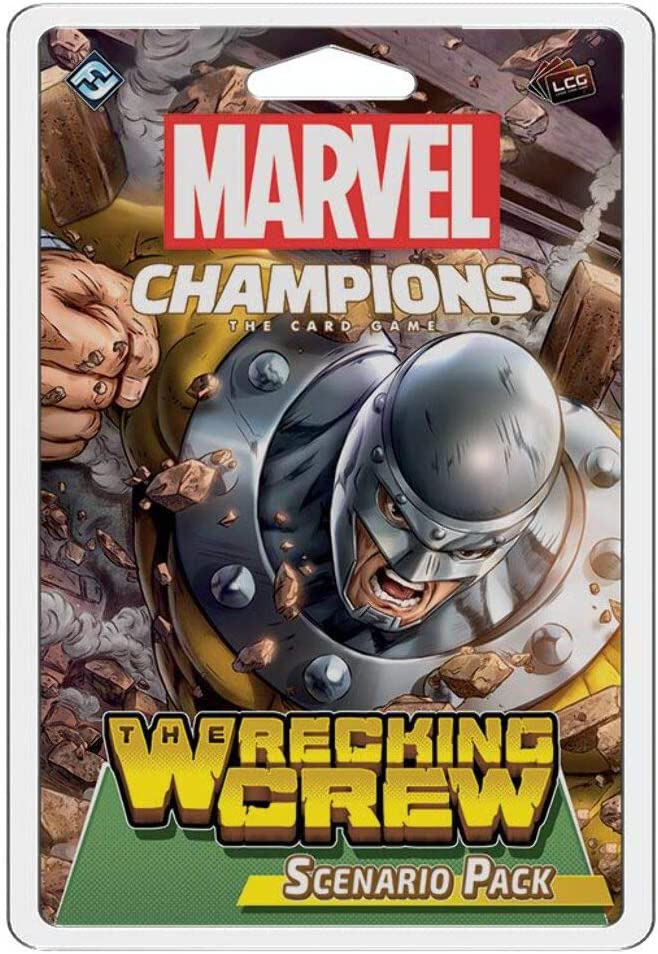 Fantasy Flight Games Marvel Champions: The Wrecking Crew Scenario Pack: Amazon.es: Juguetes y juegos