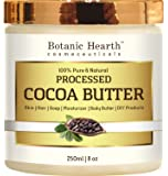 Cocoa Butter from Botanic Hearth, Processed, 100% Pure & Natural, Premium Grade A, 8 oz