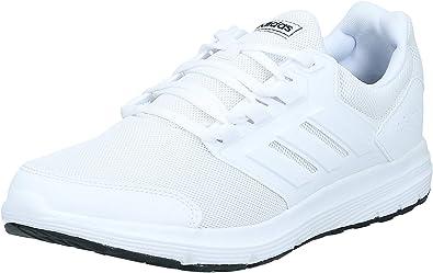 Yogur Ligadura Mala suerte  Adidas Galaxy 4, Zapatillas de Deporte Hombre, Blanco (Ftwbla/Ftwbla/Ftwbla  000), 44 2/3 EU: Amazon.es: Zapatos y complementos