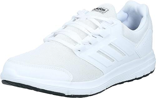 Adidas Galaxy 4, Zapatillas de Deporte para Hombre, Blanco (Ftwbla/Ftwbla/Ftwbla 000), 44 2/3 EU: Amazon.es: Zapatos y complementos