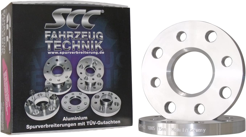 Lk 110//5+108//5 NLB 65,1 10mm pro Achse S Spurverbreiterung System 5 C/&S SCC Distanzscheibe ALU 5mm f/ür Volvo V70