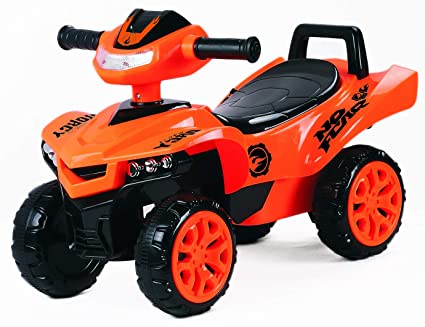 53b307b068a Buy Toy House Racing Turbo Push ATV for Kids (1 to 3Yrs), Orange Online at  Low Prices in India - Amazon.in