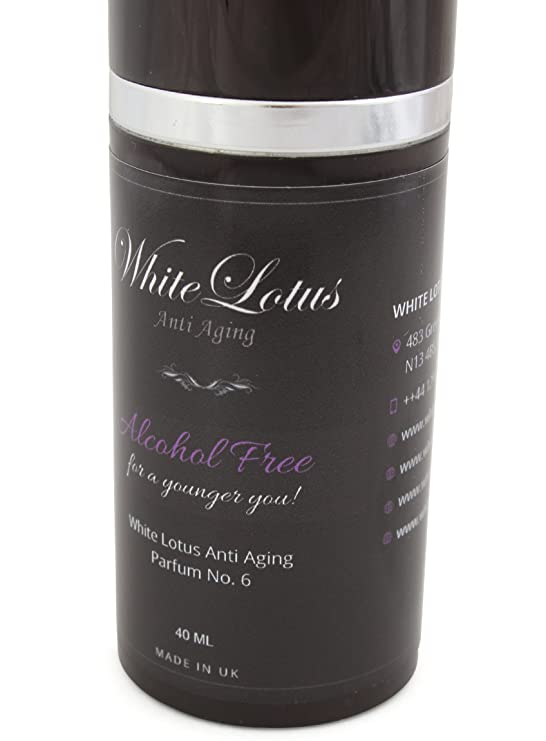 White Lotus Anti Aging - Perfume Sin Alcohol Para Mujer White Lotus Nº6 Hipoalergénico Para Pieles Sensibles - Aceite Perfumado Natural Attar Ittar Hidrata ...