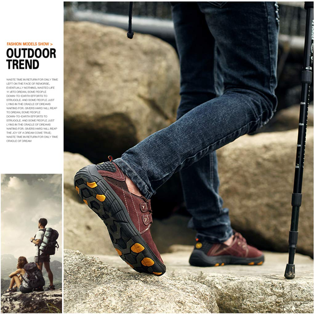 Amazon.com: Men Hiking Camping Shoes Walking Non-Slip ...
