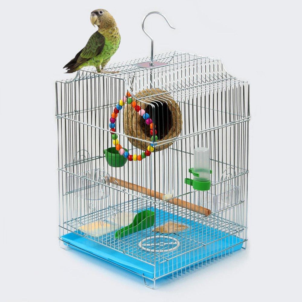 bluee metalZXT Birdbird cage  metal plating material to prevent rust