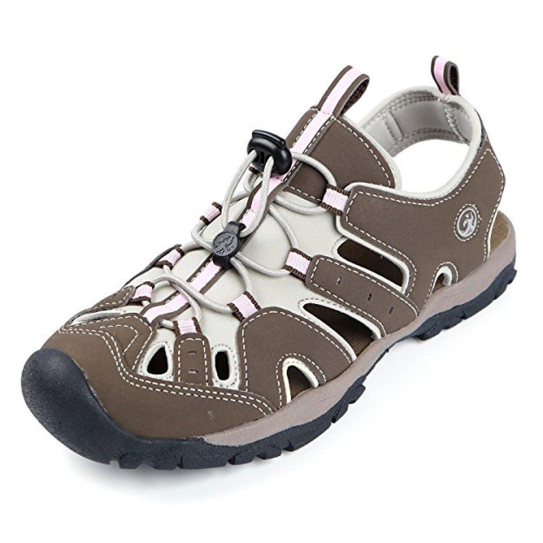 Northside Women's Burke II Athletic Summer Sandal; with a Waterproof Wet Dry Bag B07D93MN62 6 B(M) US|Brown/Pink