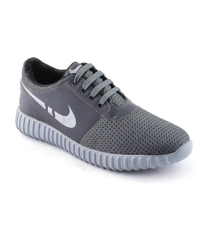 BOGDAN Men's Mesh Sneakers Shoes Grey