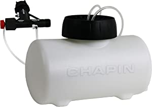 Chapin International Chapin 4720 HydroFeed 2-Gallon in-Line Auto-Mix Fertilizer Injector Sy, Translucent