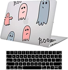 DTangLsm MacBook Air 13 inch Case 2020 2019 2018 Release A2179 A1932 Rubberized Frosted Laptop Protective Shell Slim Hard Plastic Cover Case & Keyboard Cover for MacBook Air 13 with Touch ID, Finger