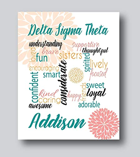 Sorority Gifts Sorority Little Gifts Sorority Big Little 8x10 Or 11x14 Print Only Aka Sorority Gifts For Women