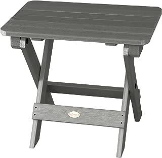 product image for Highwood Folding Adirondack Side Table, Coastal Teak