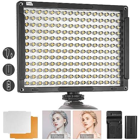 192 LED Video Light, Pixel en la cámara Video Light Panel con ...