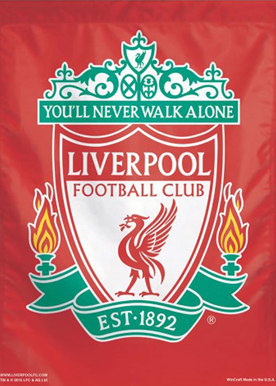 662055771 Amazon.com   WinCraft Liverpool Football Club Est 1892 Vertical Flag ...