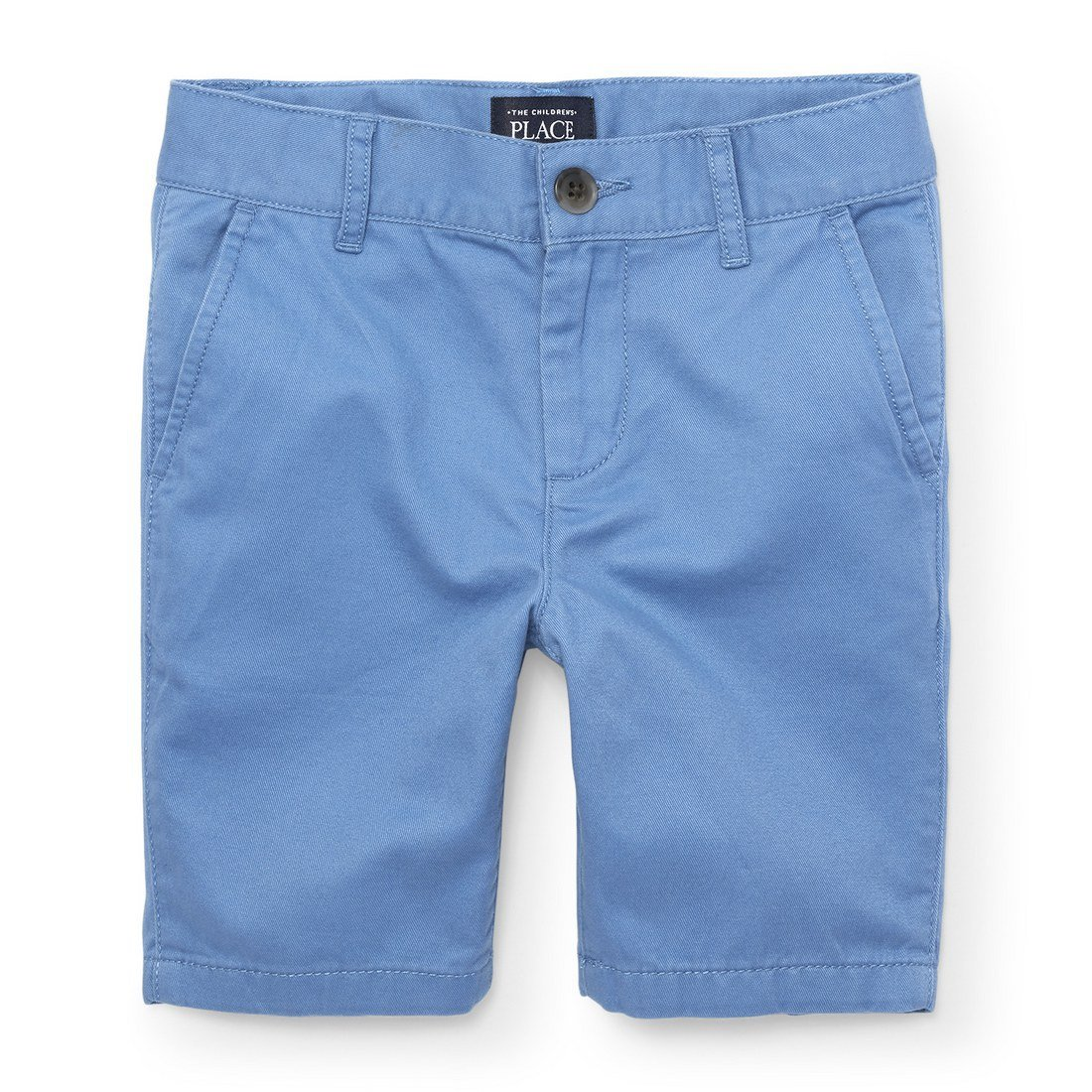 The Children's Place Big Boys' Chino Short, Blue Riviera 4740, 10
