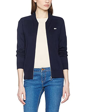 Lacoste L!VE AF2477 Jersey, Azul (Marine), Small (Talla del ...