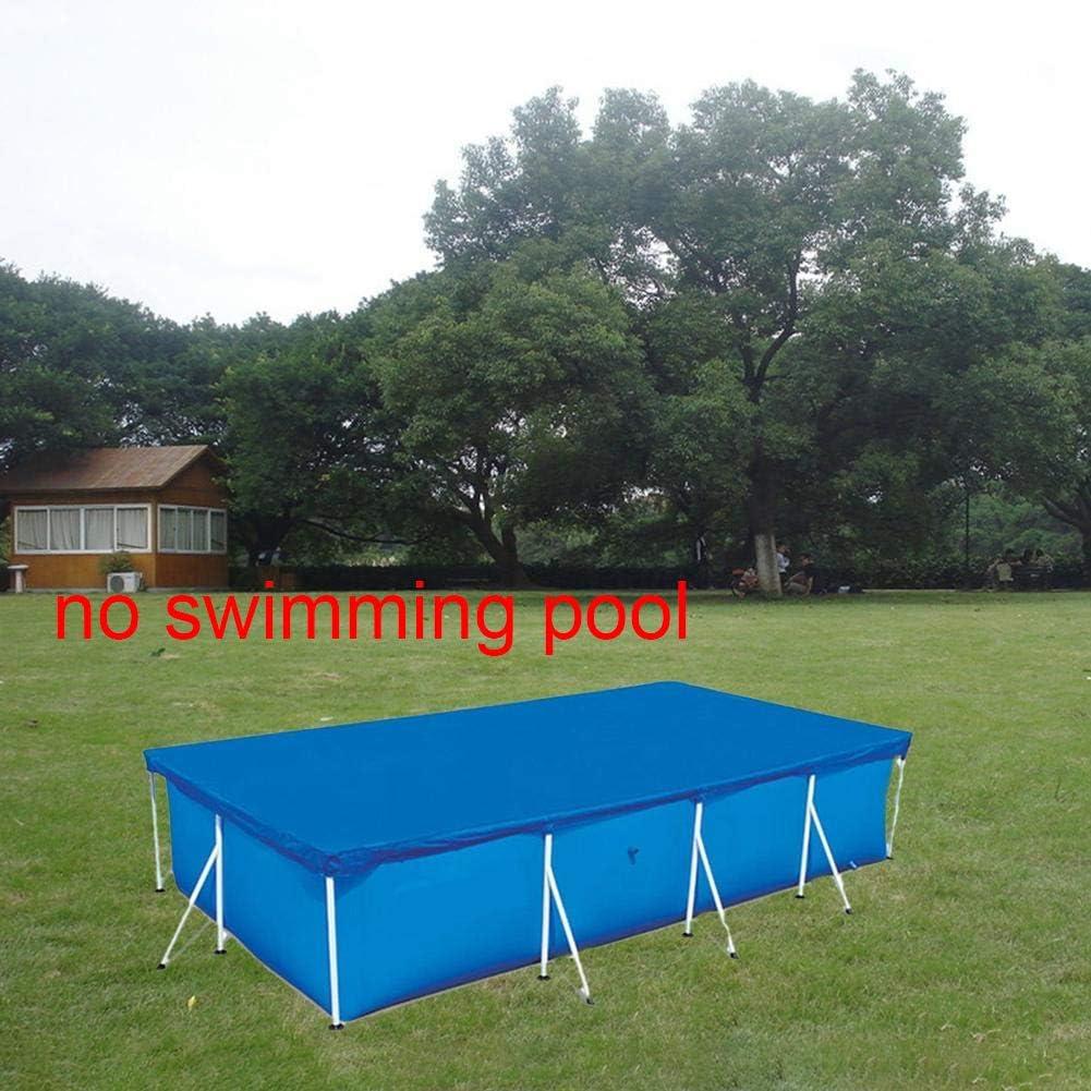 KLOP256 impermeable Cubierta rectangular para piscina antipolvo para piscina como se muestra en la imagen 220cm x 150cm rectangular para jard/ín No nulo