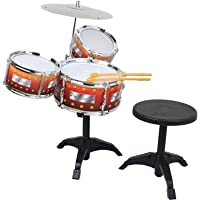 Mairah Jazz Drum with Table Musical Instrument Toy-Set of 8 Pieces