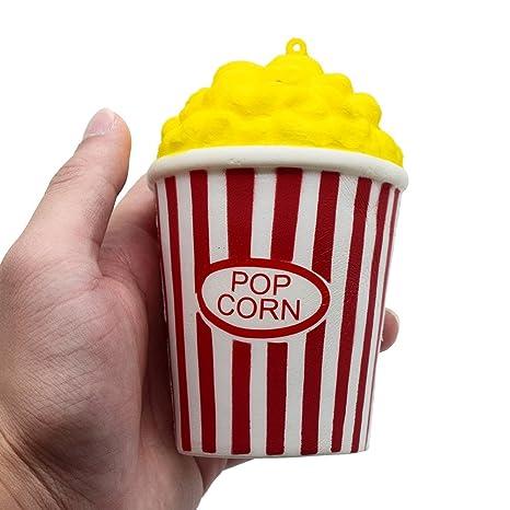 Fossrn Juguete de Galaxy Ciervo Kawaii Grande Animales con Perfumados Olor Juguetes de compresión (Popcorn
