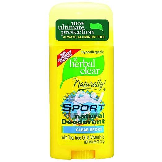 HERBAL CLEAR NAT DEOD SPORT 2.65 OZ