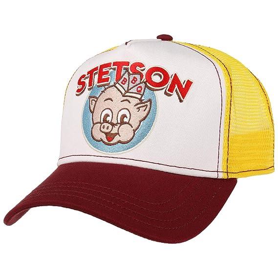 50967c8f1e8 Stetson BBQ Trucker Cap (One Size - Yellow)  Amazon.co.uk  Clothing