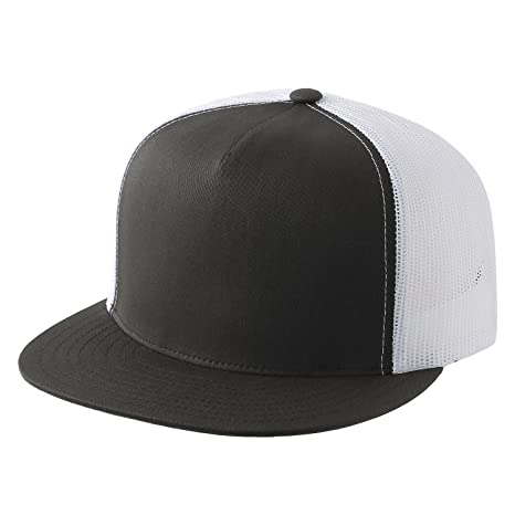 7aacc5d0aa9 Classic Trucker Snapback Hat Yupoong 6006   2-Tone at Amazon Men s Clothing  store