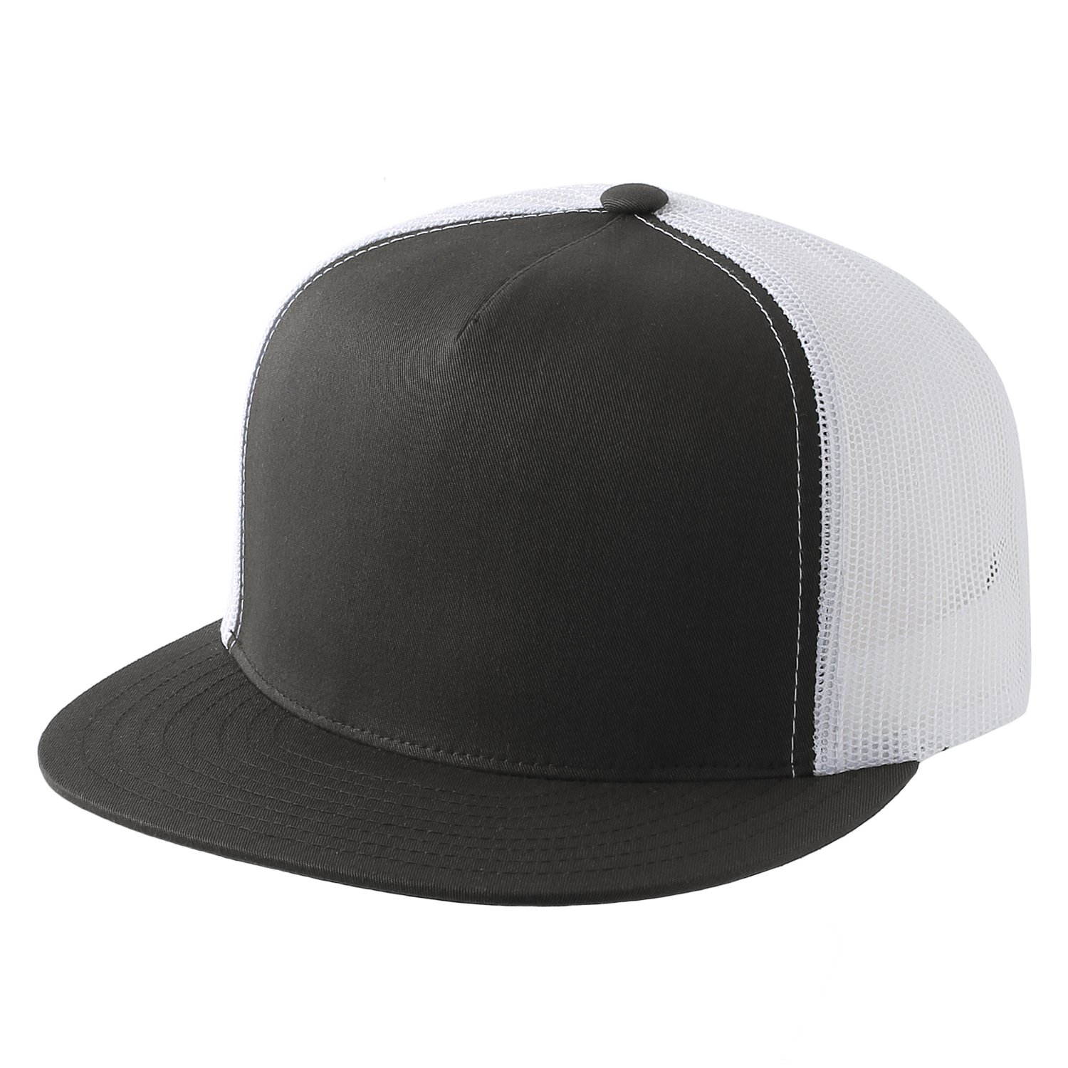Yupoong Adult Classic Trucker with White Front Panel Cap-6006W NEW!