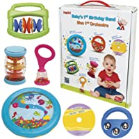 Halilit Baby's First Birthday Band Musical Instrument Gift Set