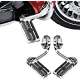 """TCMT Highway Pegs Fit For Harley Softail Sportster Electra Road Glide Road King Street Glide with 1.25"""" Engine Guard 1 1/4 Hi"""