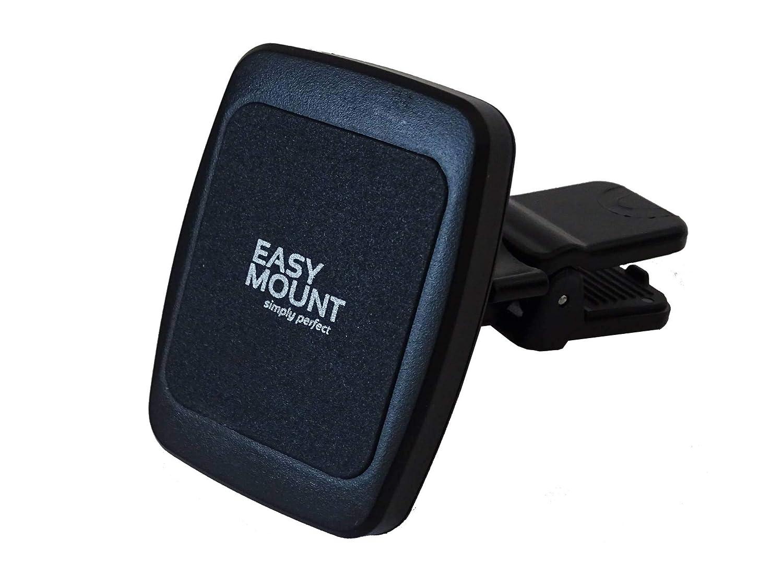 EasyMount classic. die einfach zu installierende. rahmenlose. universal Handyhalterung in schwarz 1001E
