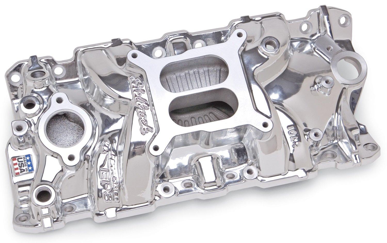 Edelbrock 27014 Performer EPS EnduraShine Aluminum Intake Manifold