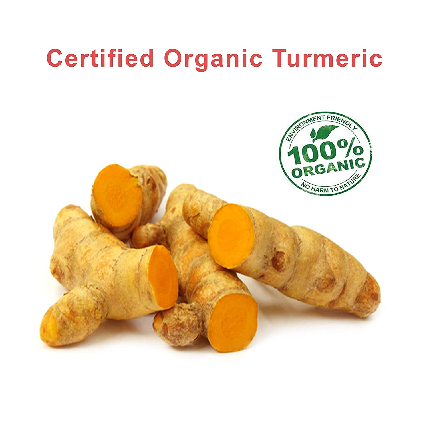ORGANIC TUMERIC CURCUMIN SUPPLEMENT WITH BLACK PEPPER 120 TABLETS Not Capsules for women and men adults