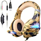Gaming Headset for PS4, Xbox One, PC, Nintendo