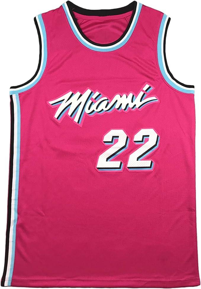 Jimmy Butler, Jersey, Calle Miami Heat Baloncesto Jersey, 22 ...