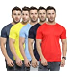 AWG - All Weather Gear Men's Regular Fit T-shirt (Pack of 5)