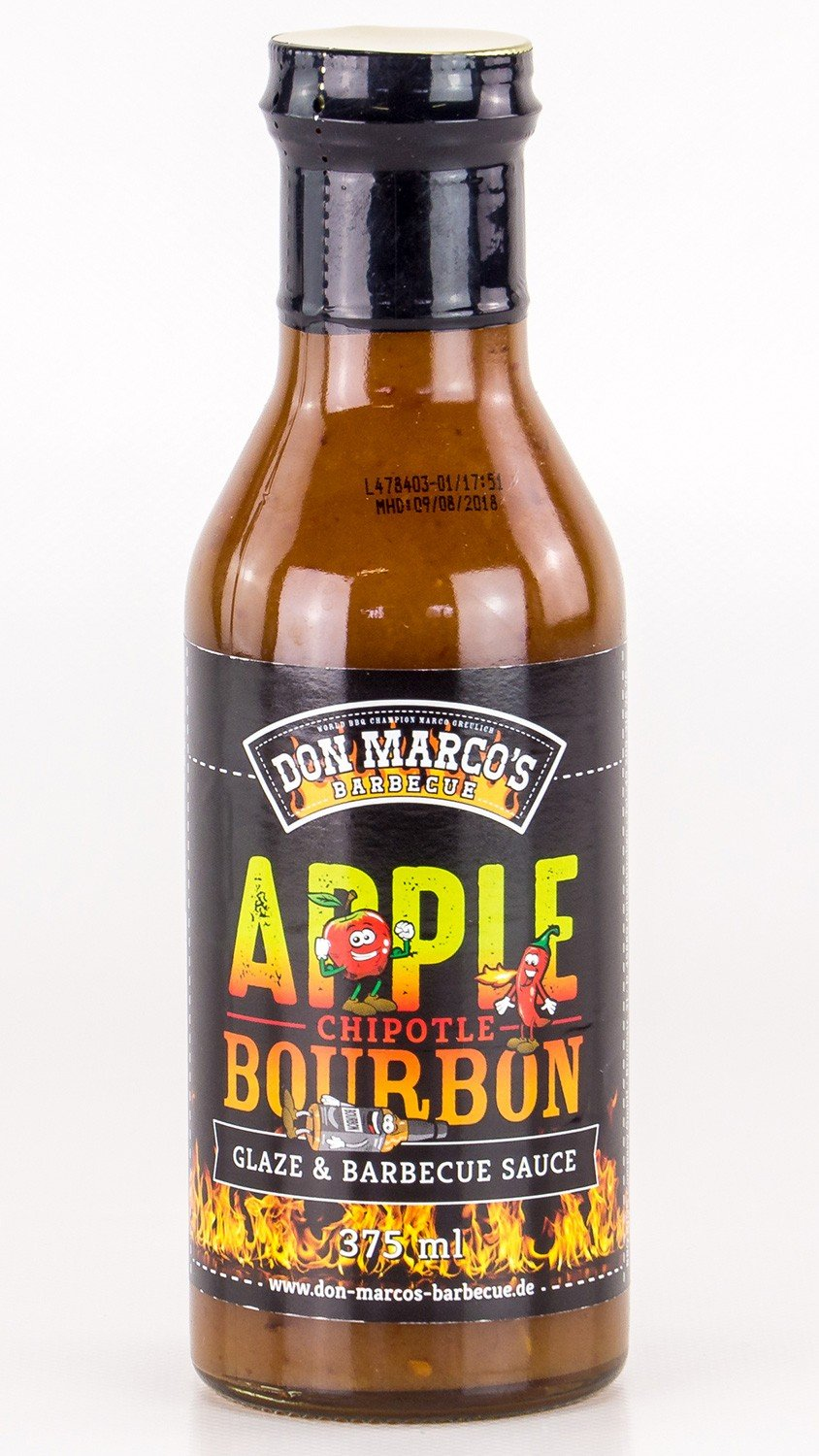 Don Marco s - Apple Chip otle Bourbon Glaze & Salsa Barbacoa: Amazon.es: Alimentación y bebidas