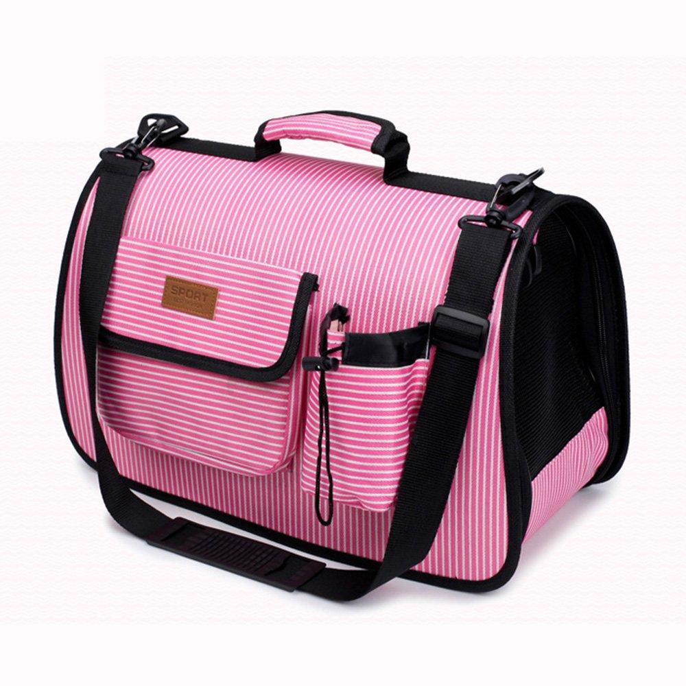 Black Large Black Large Pet Bag Dog Cart Carry Bag Backpack Carrying Bag Breathable Pet Bag Portable Puppy Pet Shoulder Bag Portable Cat Bag