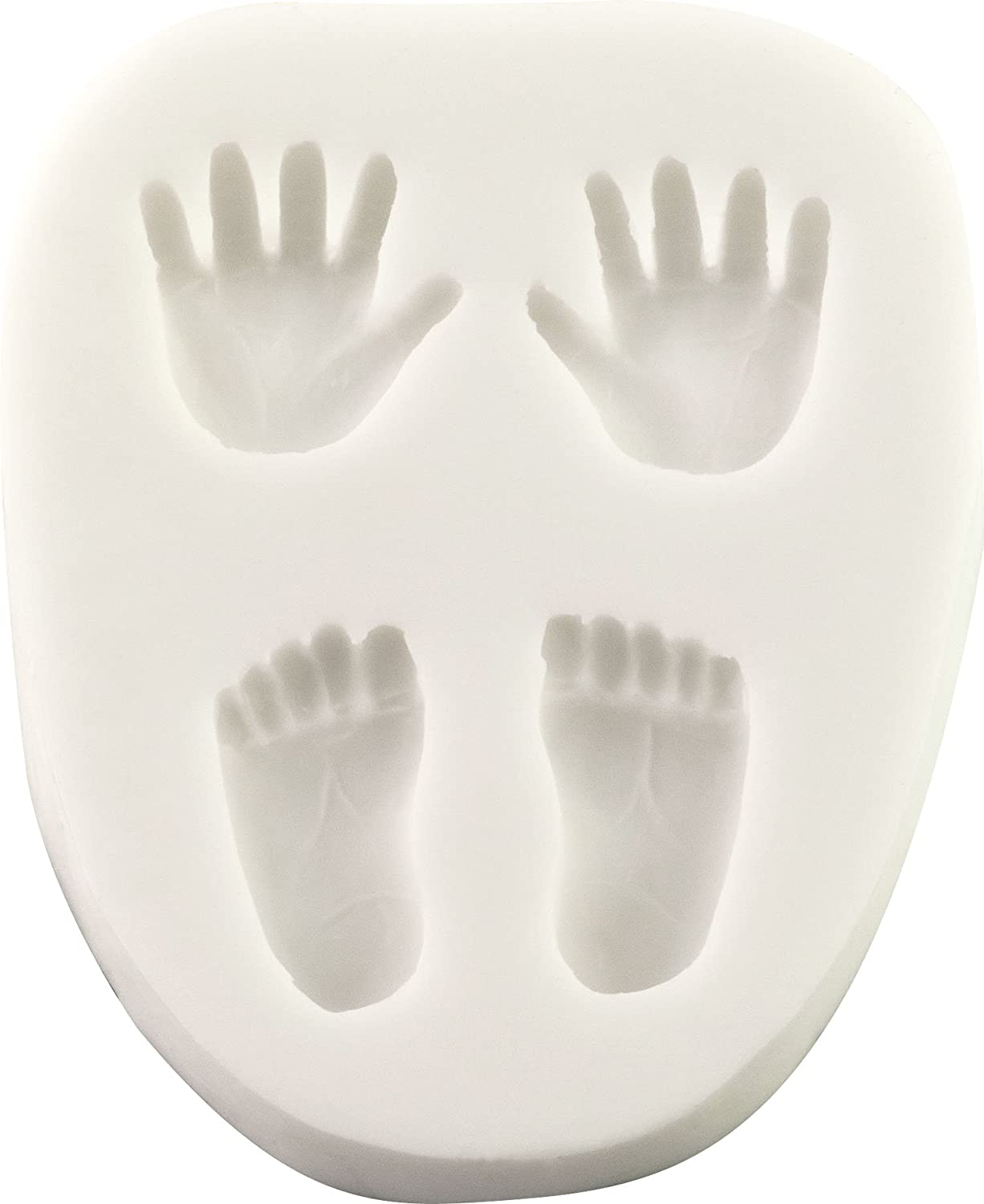 Small Hand Foot Silicone Mold Fondant Mould Cake DecoratingJC