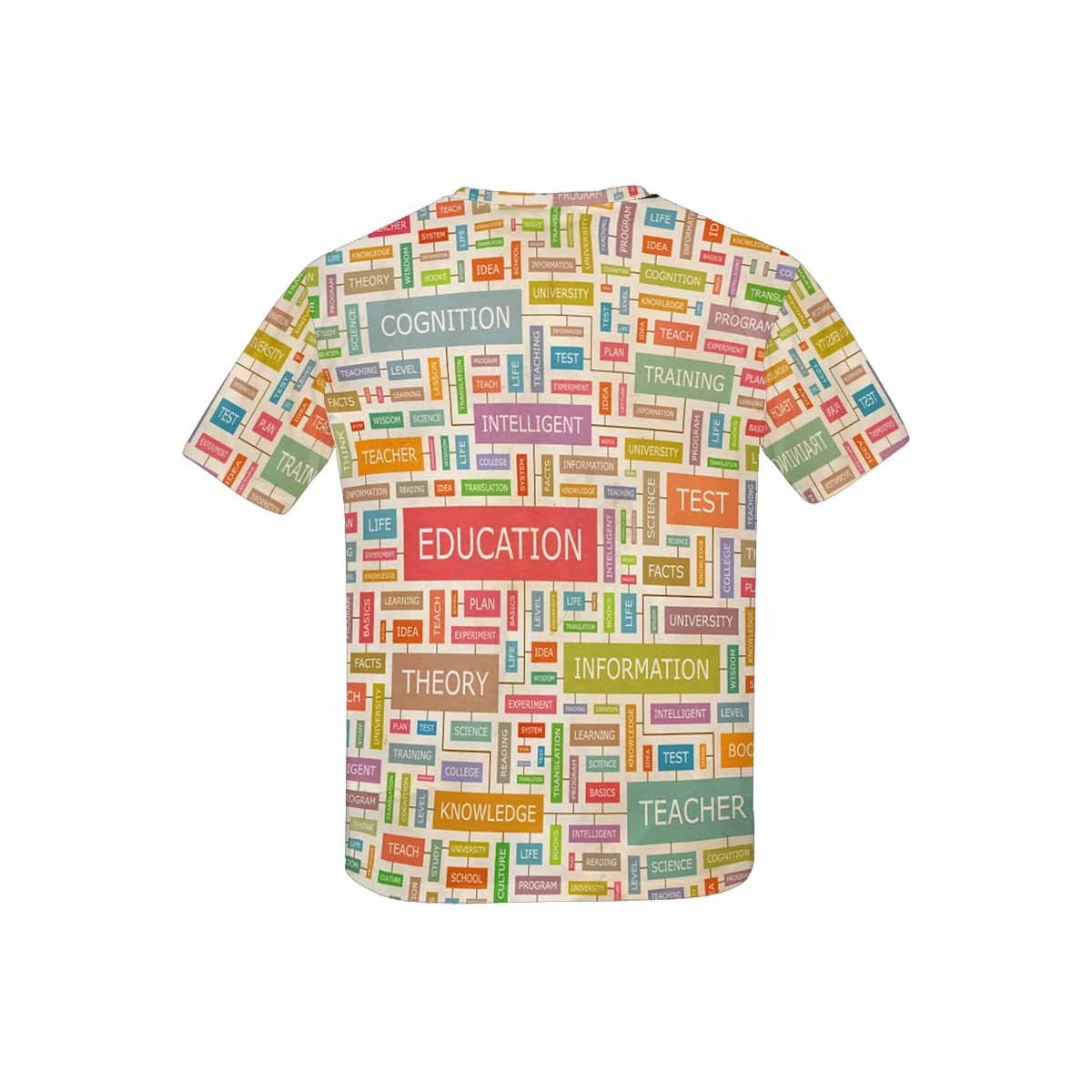 XS-XL Word Collage INTERESTPRINT Youth T-Shirts Education
