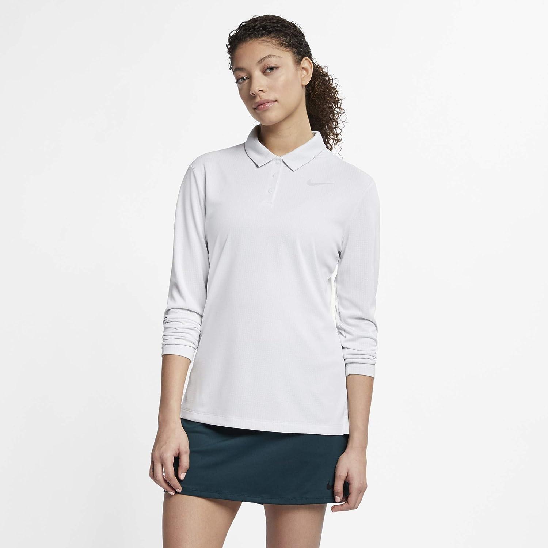 [ナイキ(Nike)] 2019春夏 ドライ コア ロングスリーブ ポロ レディース 【WOMEN SPORTSWAER/トップ/長袖/T/ポロシャツ/ライフスタイル/ゴルフ/テニス 】 [並行輸入品] 【日本 サイズ L 胸囲90~95cm】  B07HM5LJKY