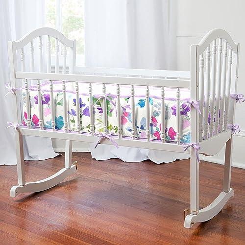 Carousel Designs Wildflower Garden Cradle Bumper