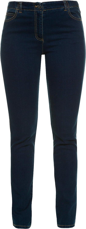 GINA LAURA Damen bis 50, 5 Pocket Jeans Julia, Shaping