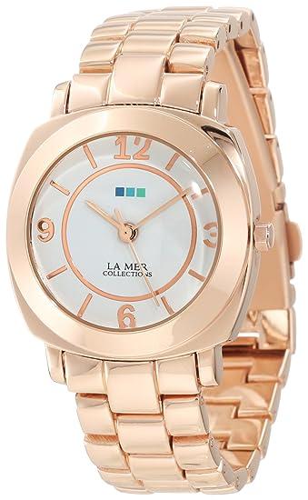 La Mer Collections Mujer lmodysseylink002 oro rosa Mini vinculado Odyssey Reloj: Amazon.es: Relojes