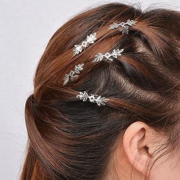 5 stk Haarklammer Haarclips Haarspange Damen Schneeflocke Haarschmuck Frisur DIY